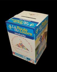 Cube marathon la route du Louvre